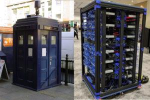 Raspberry Super Computer Police Box Design
