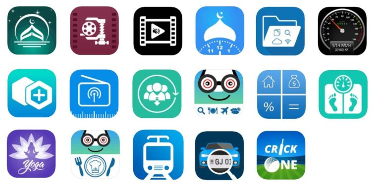 The infected apps icons