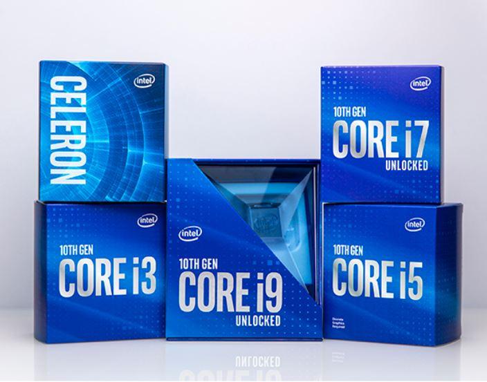 Intel 10ma Generación para Desktops