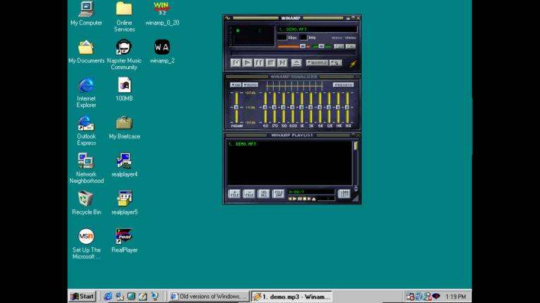 WinAmp en Win95